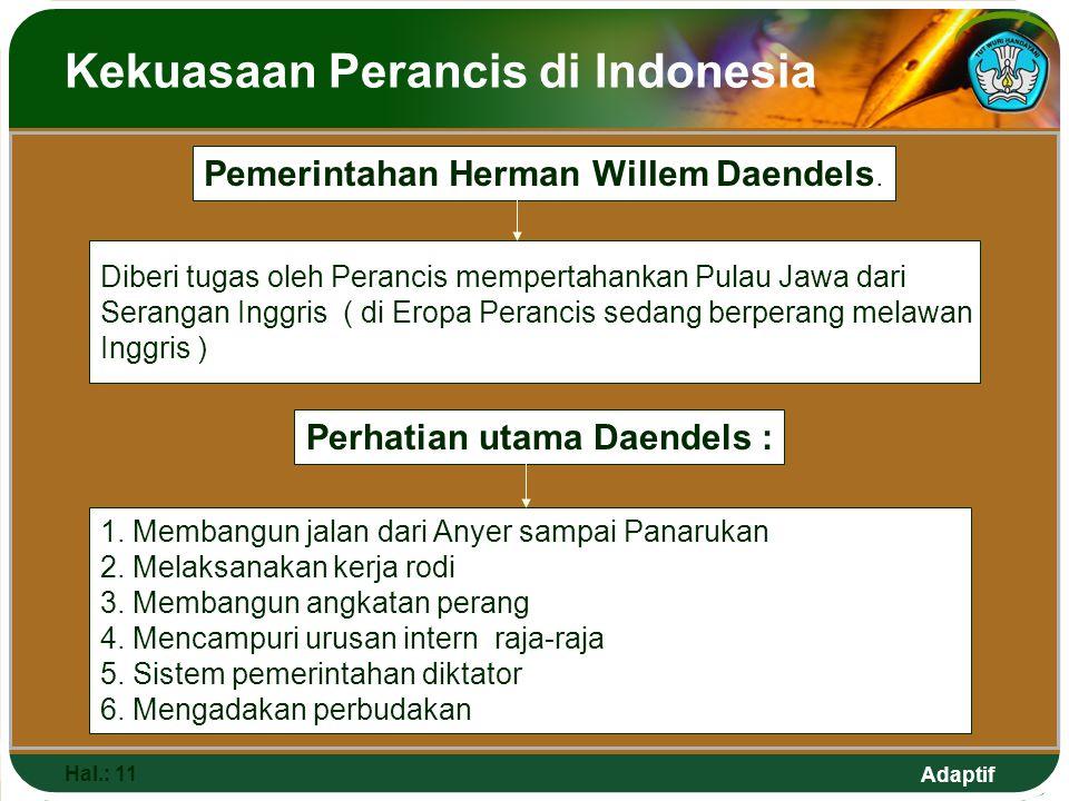 Kekuasaan Perancis di Indonesia