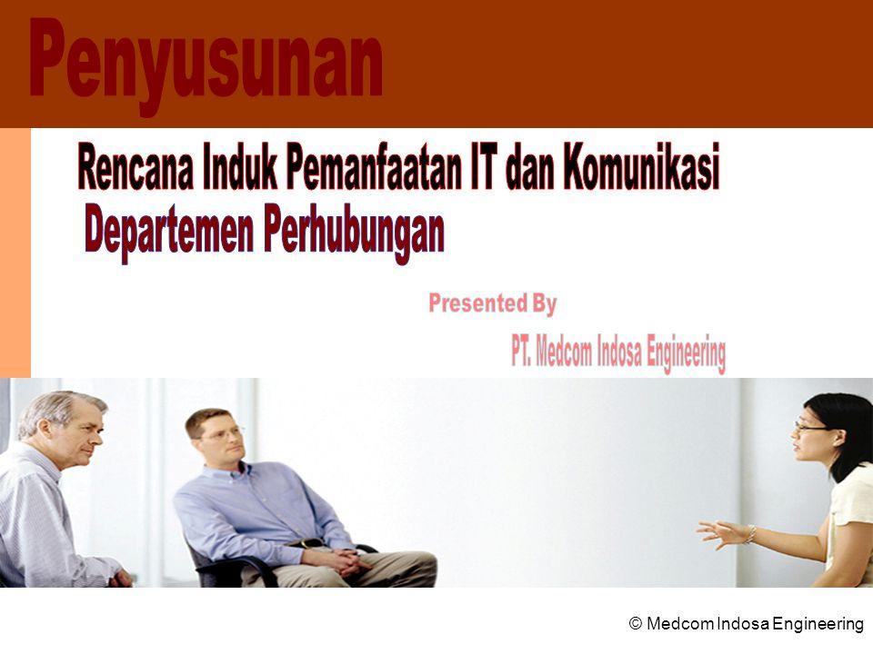 Rencana Induk Pemanfaatan IT dan Komunikasi Departemen Perhubungan