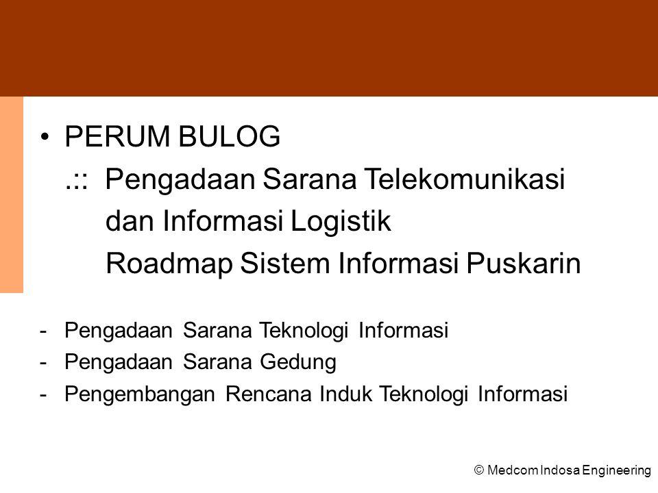 .:: Pengadaan Sarana Telekomunikasi dan Informasi Logistik