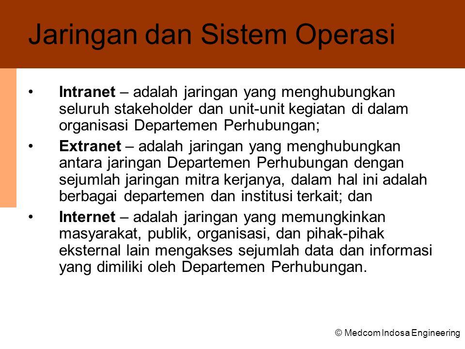 Jaringan dan Sistem Operasi