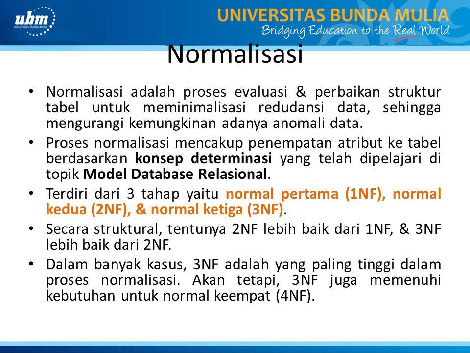 Normalisasi