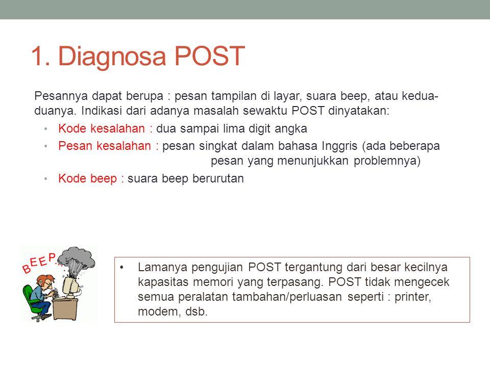 1. Diagnosa POST