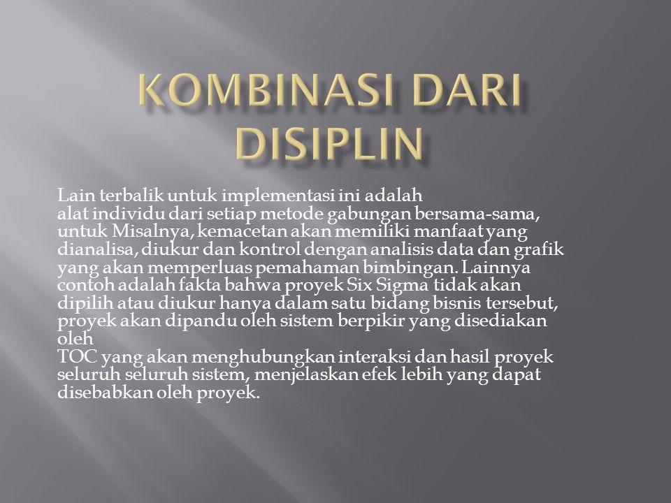 Kombinasi dari Disiplin