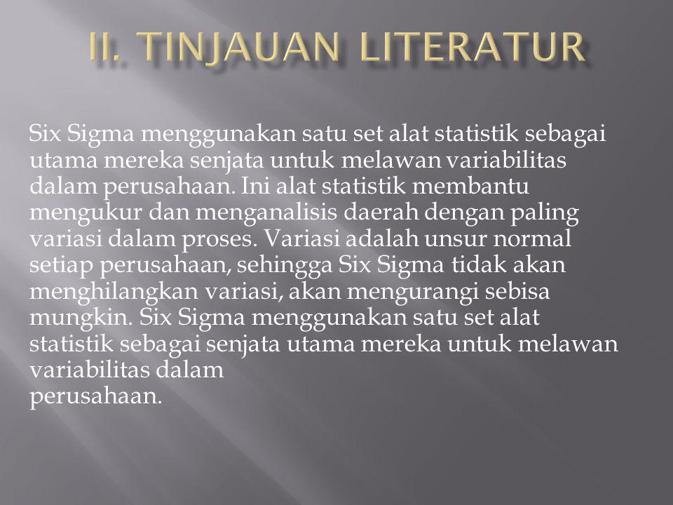 II. TINJAUAN LITERATUR
