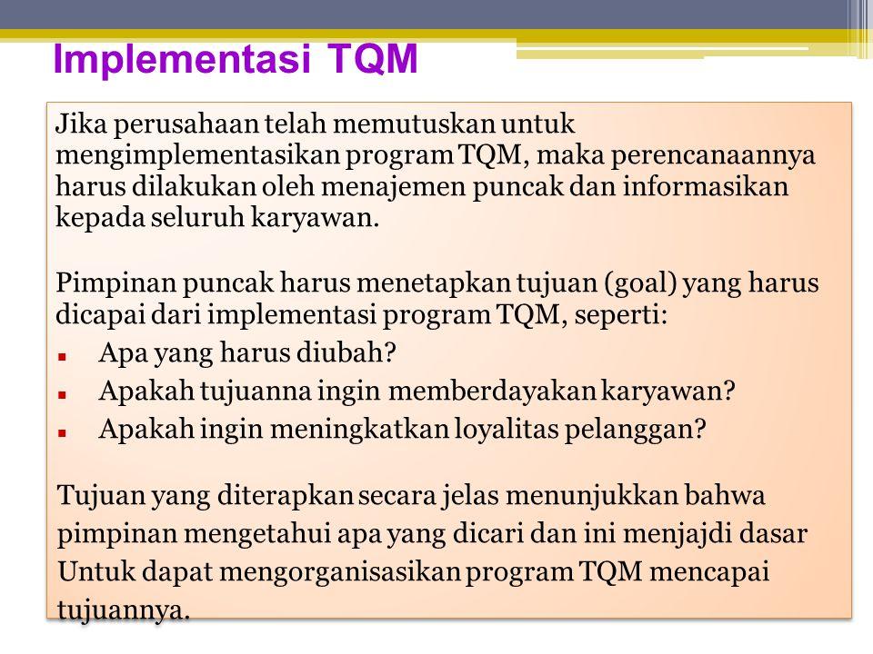 Implementasi TQM