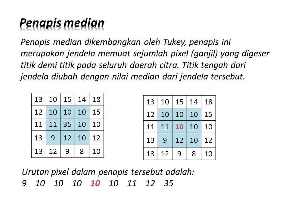 Penapis median