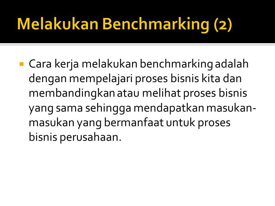 Melakukan Benchmarking (2)