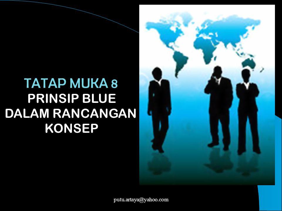 TATAP MUKA 8 PRINSIP BLUE DALAM RANCANGAN KONSEP putu.artaya@yahoo.com