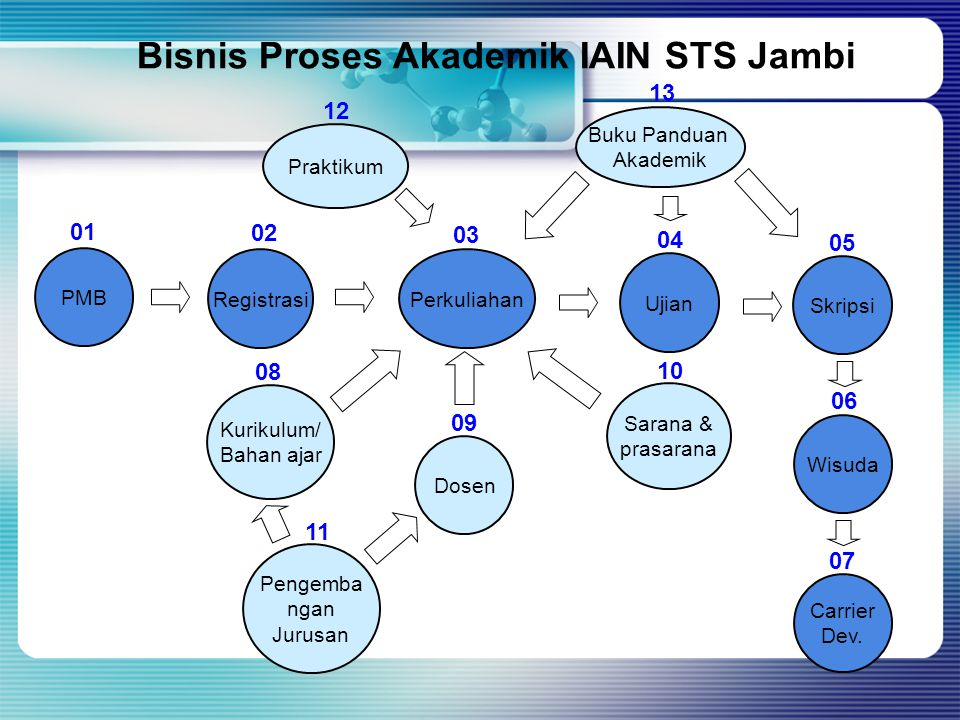 Bisnis Proses Akademik IAIN STS Jambi