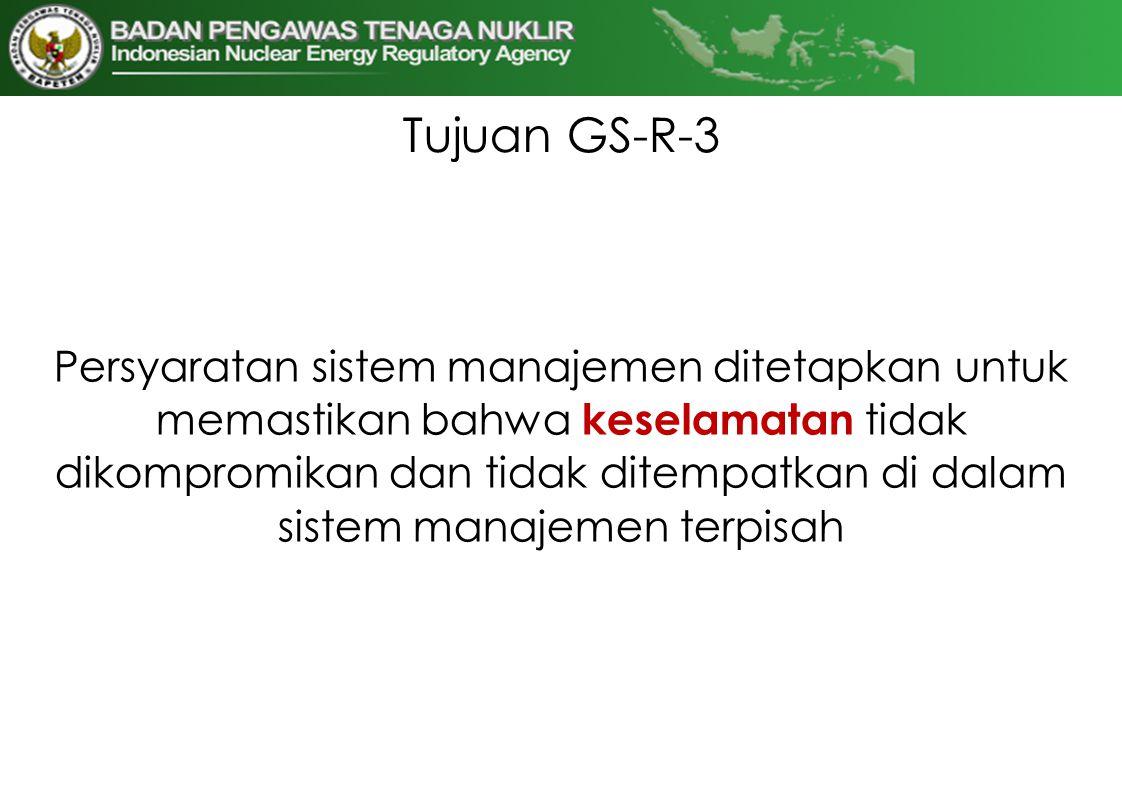 Tujuan GS-R-3