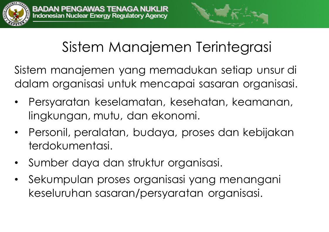 Sistem Manajemen Terintegrasi