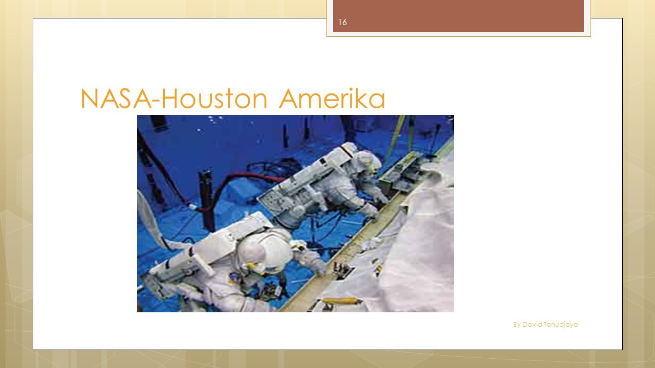 NASA-Houston Amerika By David Tanudjaya
