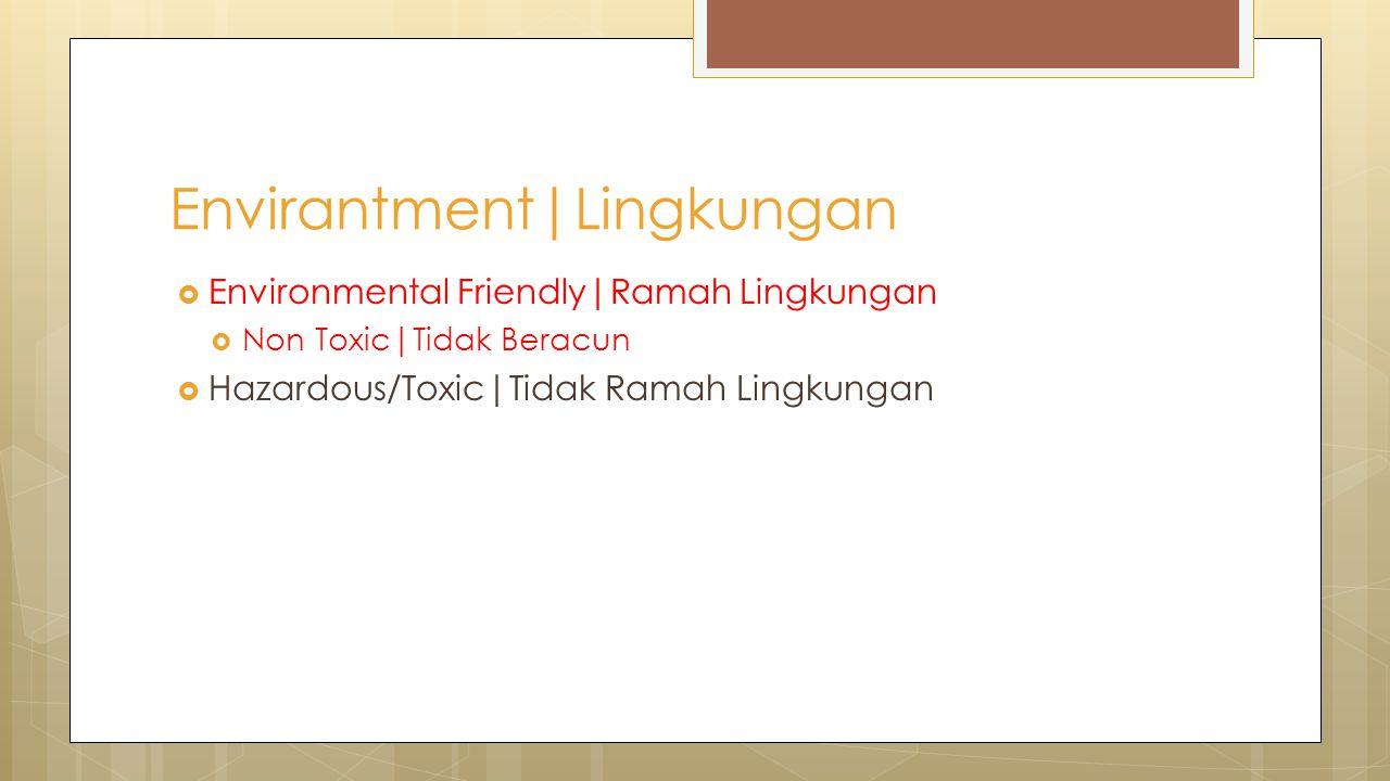 Envirantment|Lingkungan