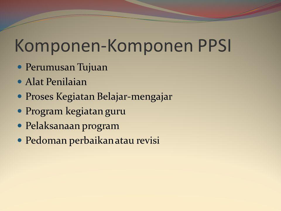 Komponen-Komponen PPSI