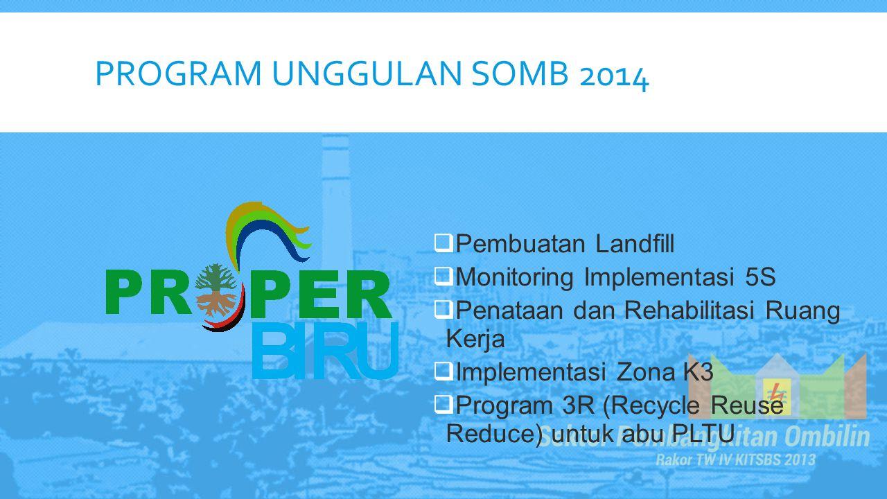 Program Unggulan somb 2014 Pembuatan Landfill