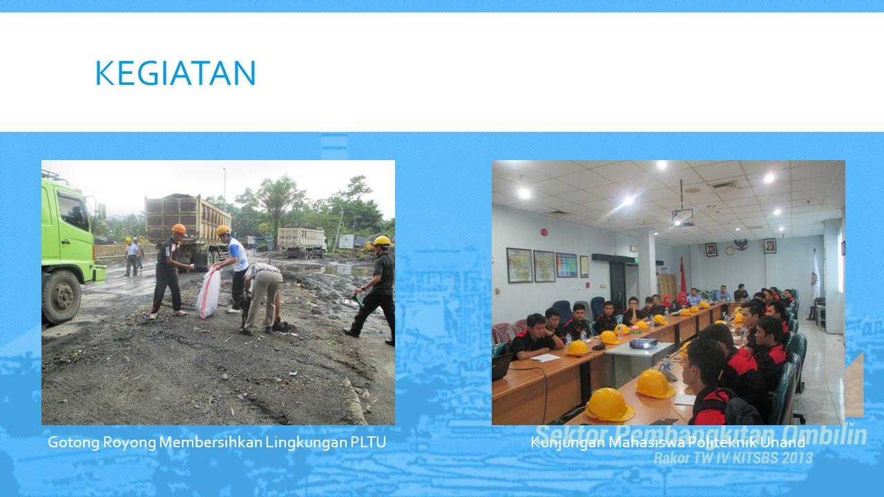KEGIATAN Gotong Royong Membersihkan Lingkungan PLTU