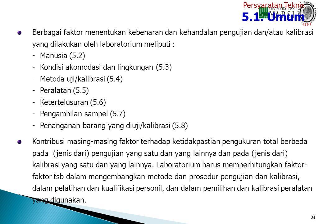 5.1. Umum Persyaratan Teknis