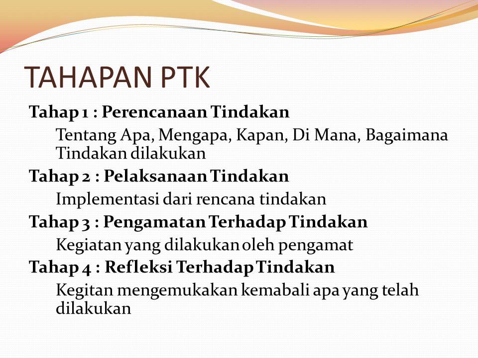 TAHAPAN PTK