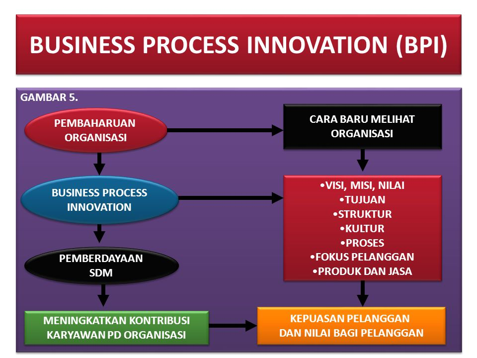 BUSINESS PROCESS INNOVATION (BPI)