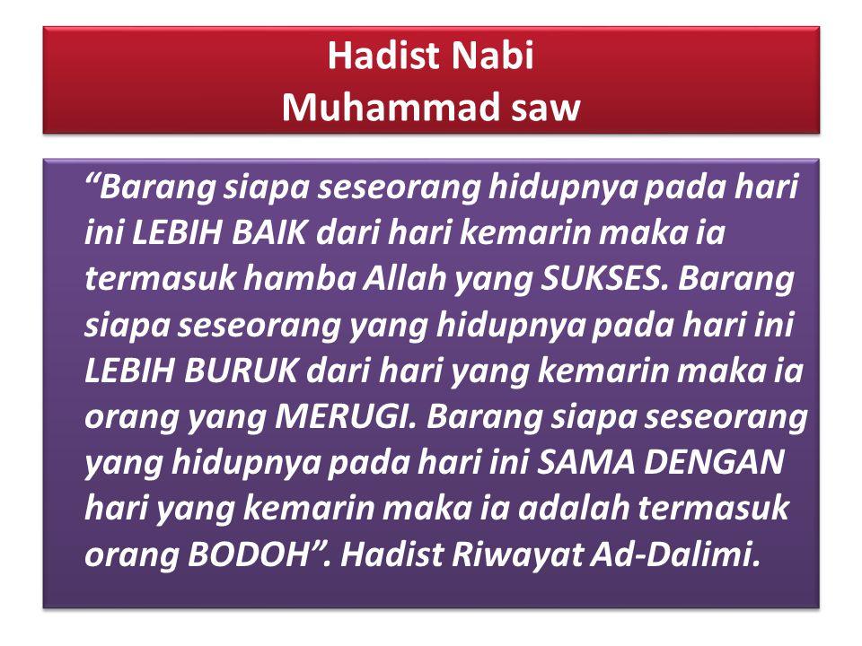 Hadist Nabi Muhammad saw