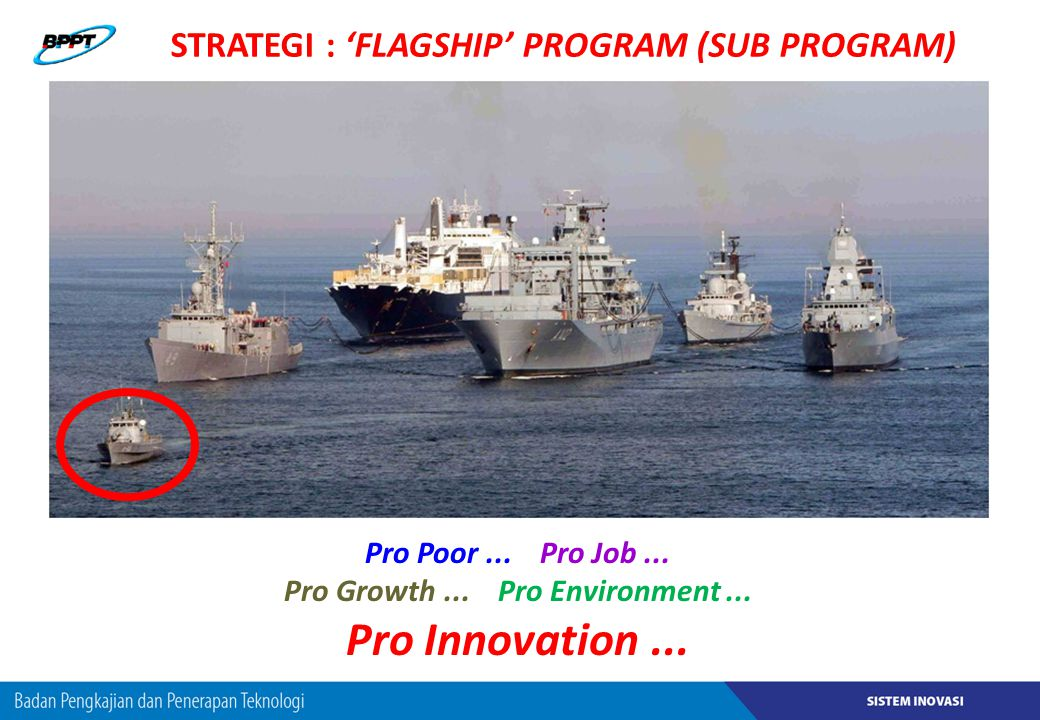 STRATEGI : 'FLAGSHIP' PROGRAM (SUB PROGRAM)