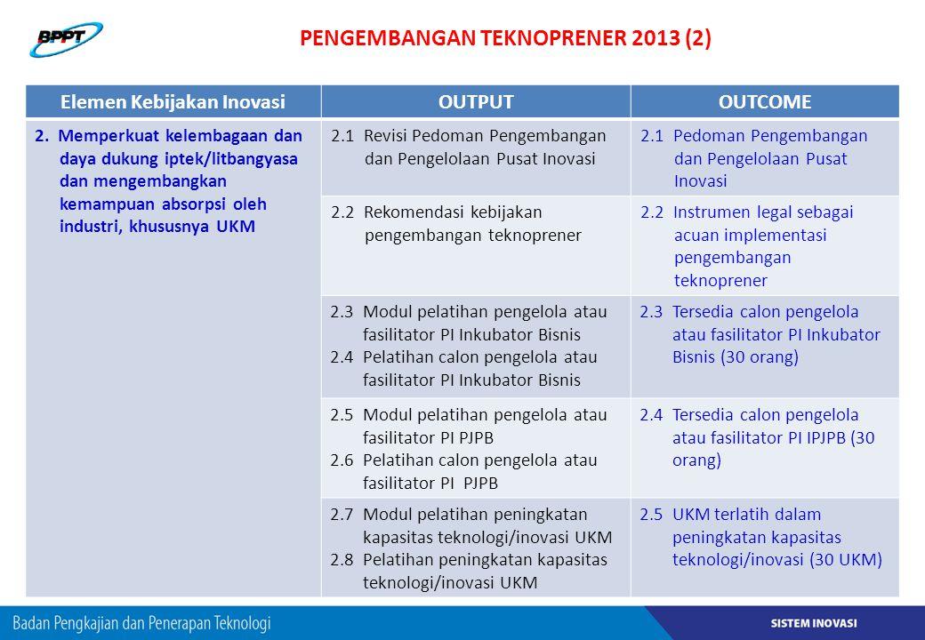PENGEMBANGAN TEKNOPRENER 2013 (2)
