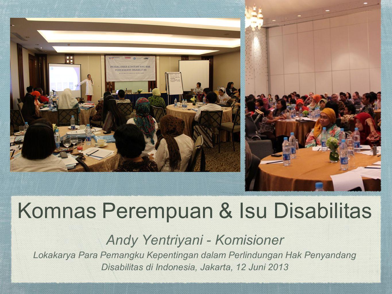 Komnas Perempuan & Isu Disabilitas