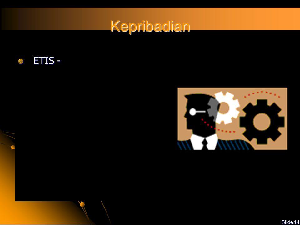 Kepribadian ETIS -