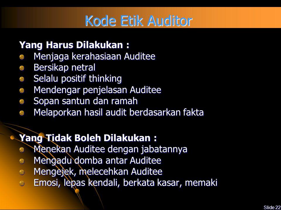 Kode Etik Auditor Yang Harus Dilakukan : Menjaga kerahasiaan Auditee