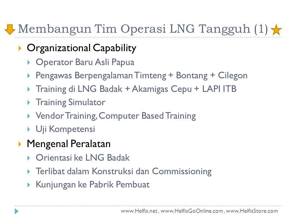 Membangun Tim Operasi LNG Tangguh (1)