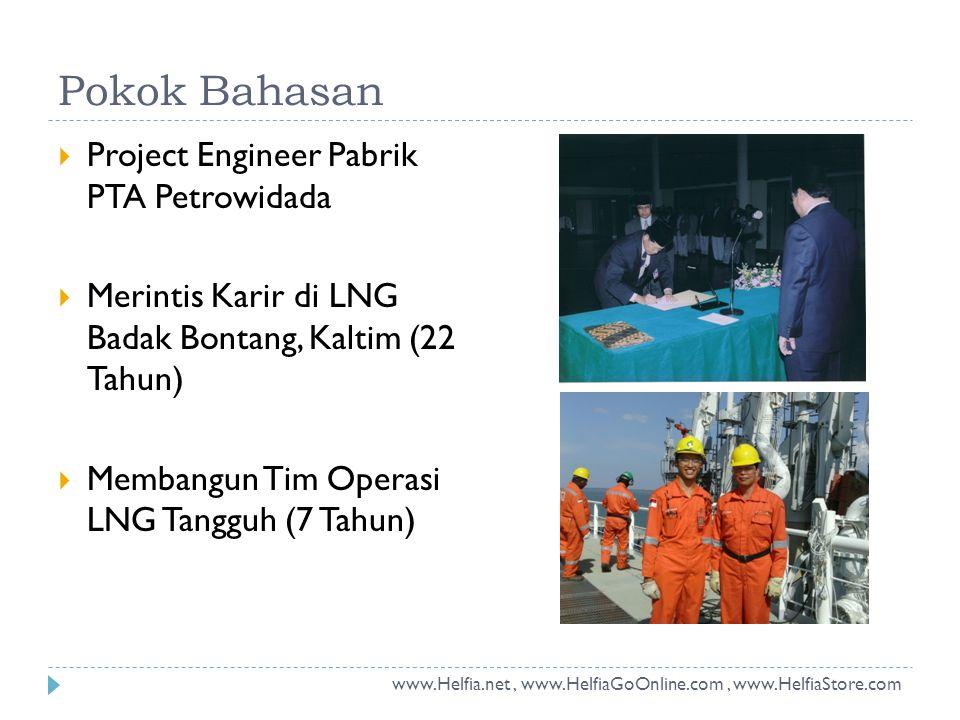 Pokok Bahasan Project Engineer Pabrik PTA Petrowidada