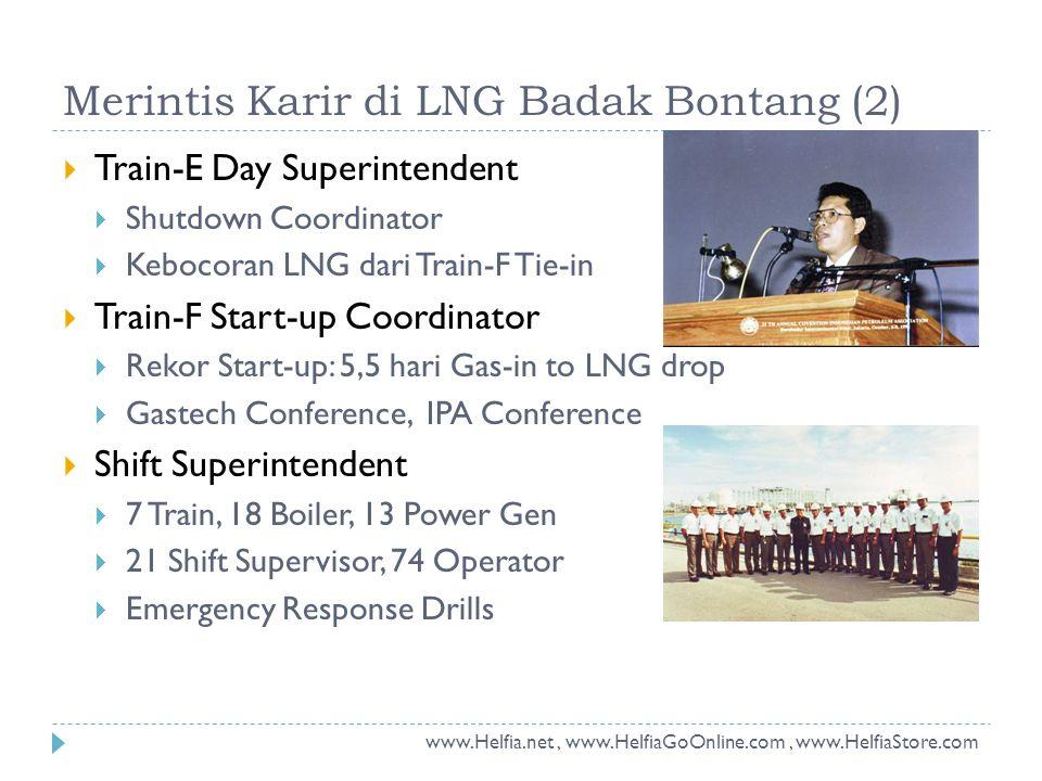 Merintis Karir di LNG Badak Bontang (2)