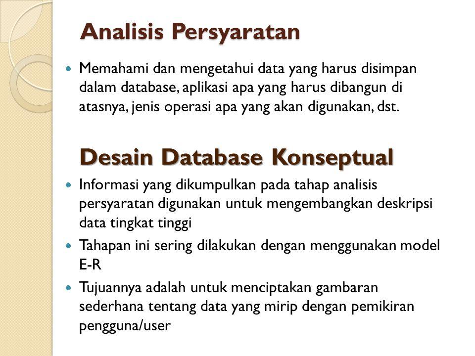 Analisis Persyaratan