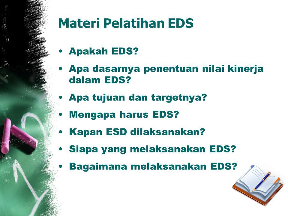 Materi Pelatihan EDS Apakah EDS