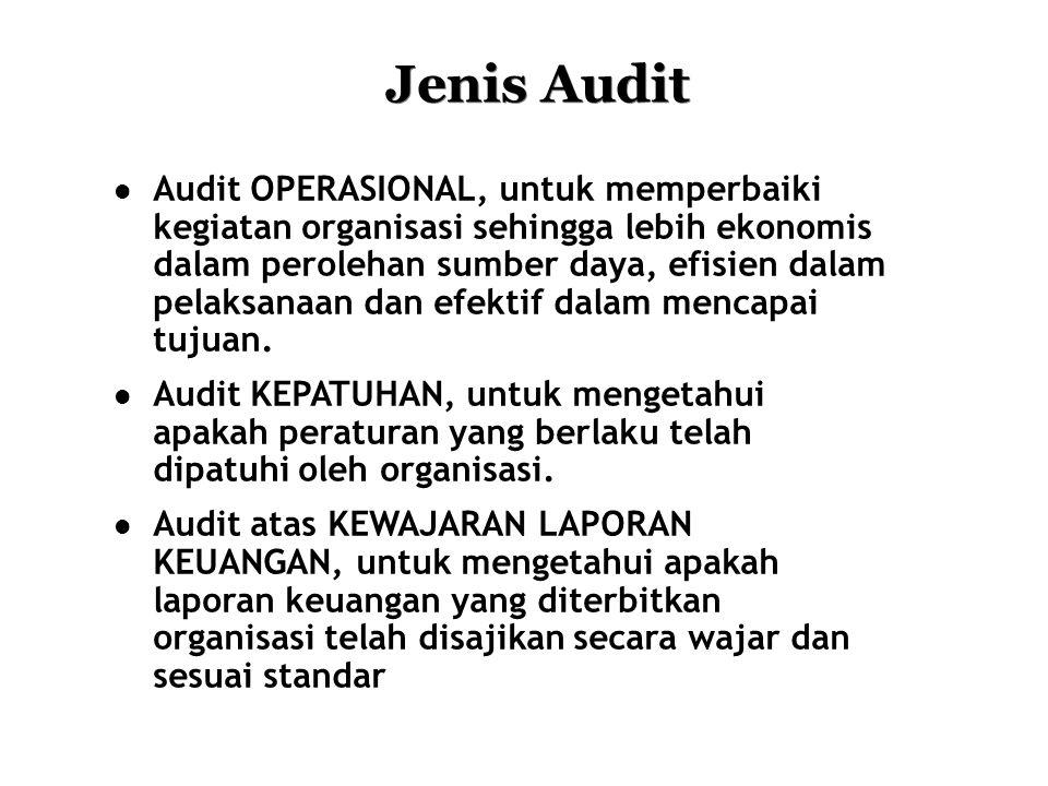 Jenis Audit