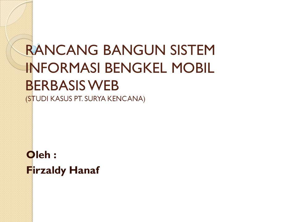 Oleh : Firzaldy Hanaf 
