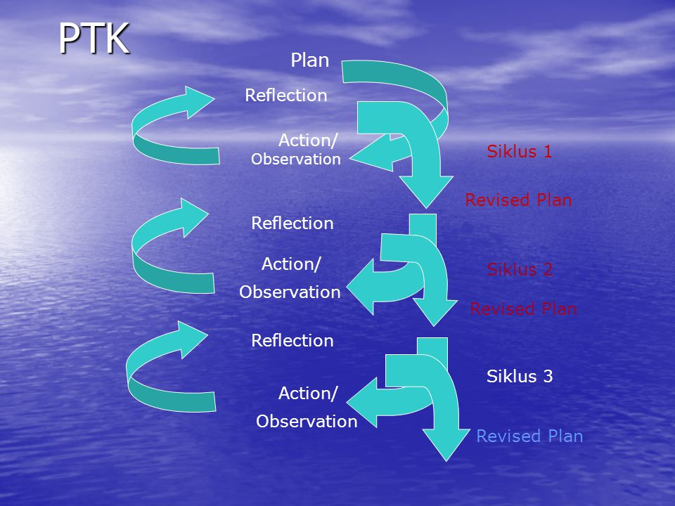 PTK Plan Reflection Action/ Siklus 1 Revised Plan Reflection Action/