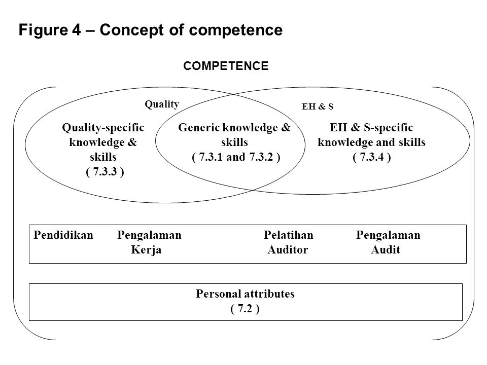 Figure 4 – Concept of competence