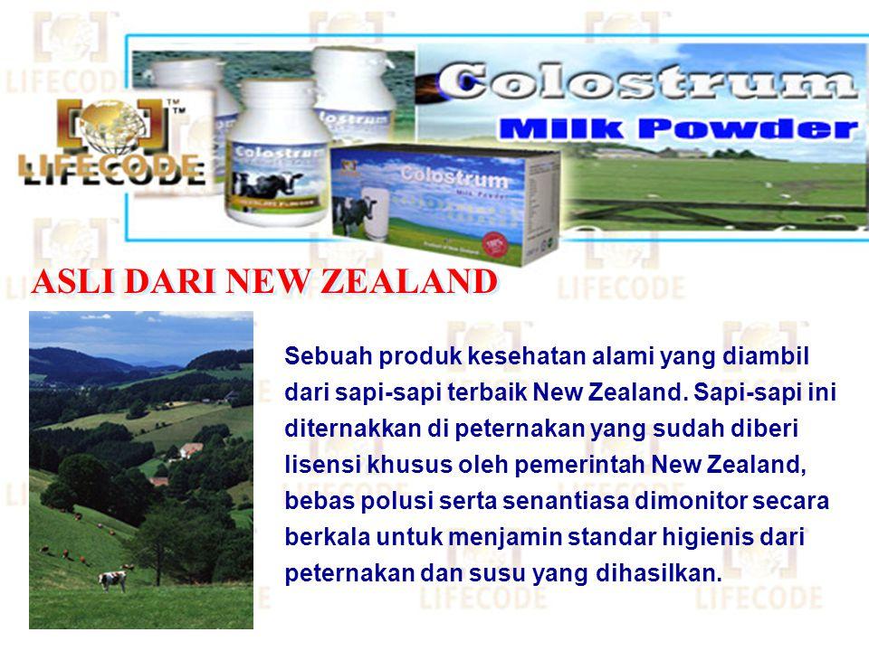 ASLI DARI NEW ZEALAND
