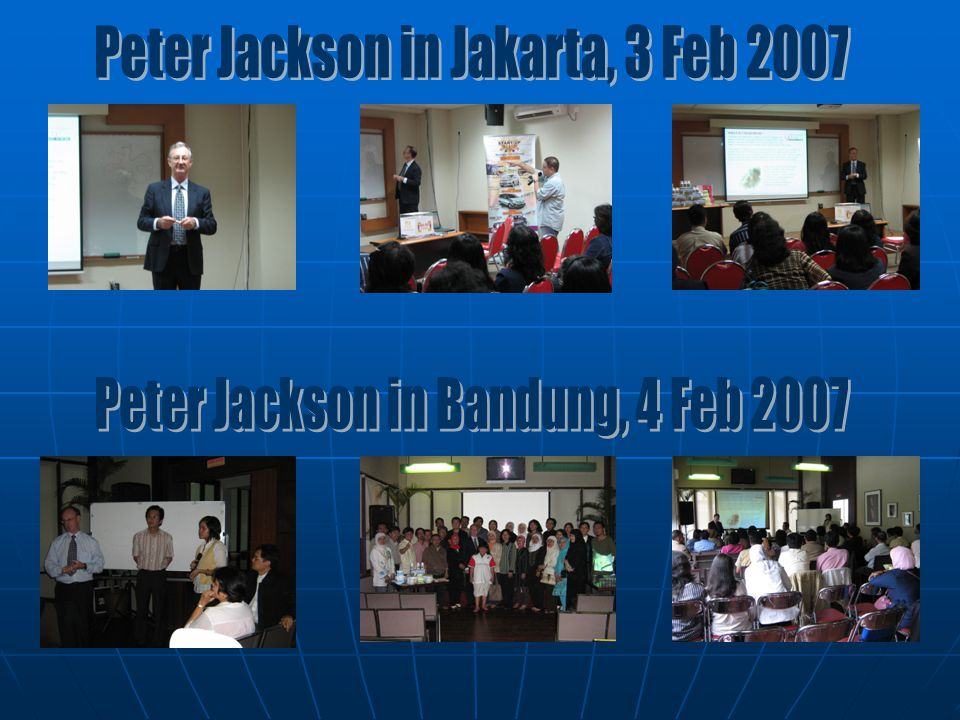 Peter Jackson in Jakarta, 3 Feb 2007