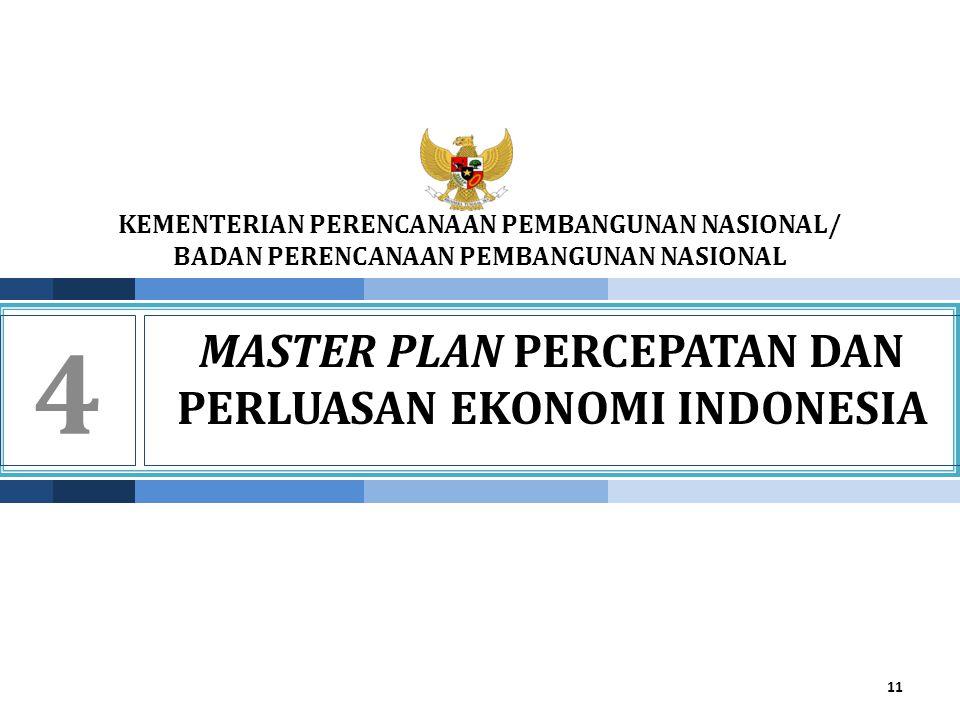 MASTER PLAN PERCEPATAN DAN PERLUASAN EKONOMI INDONESIA