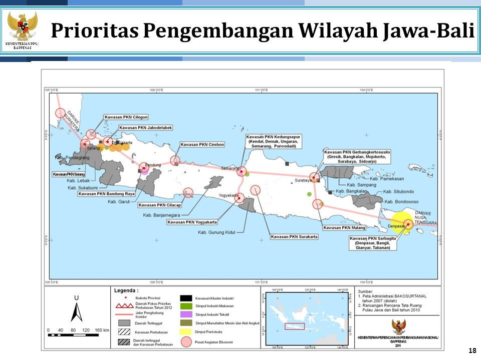 Prioritas Pengembangan Wilayah Jawa-Bali
