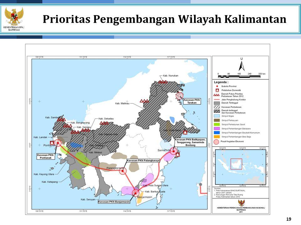 Prioritas Pengembangan Wilayah Kalimantan