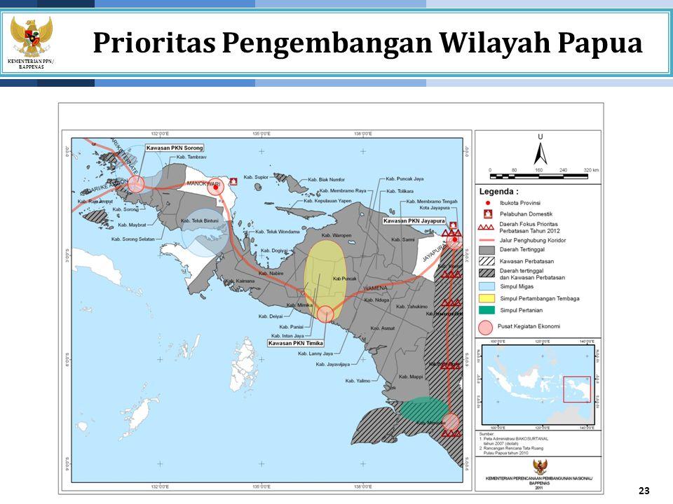 Prioritas Pengembangan Wilayah Papua