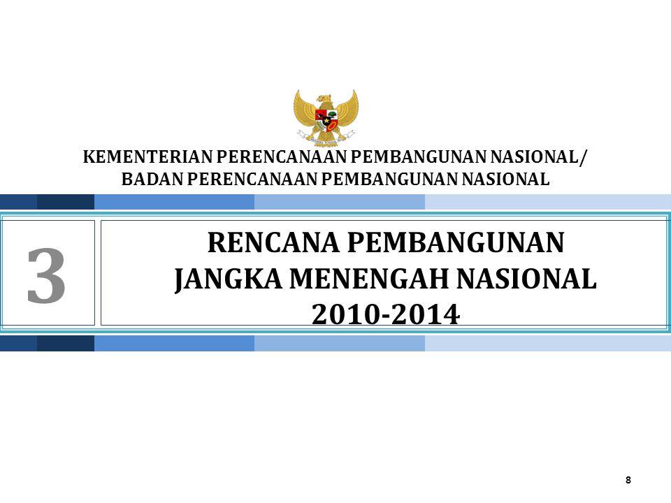 RENCANA PEMBANGUNAN JANGKA MENENGAH NASIONAL 2010-2014