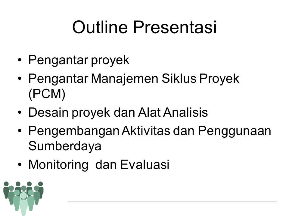Outline Presentasi Pengantar proyek
