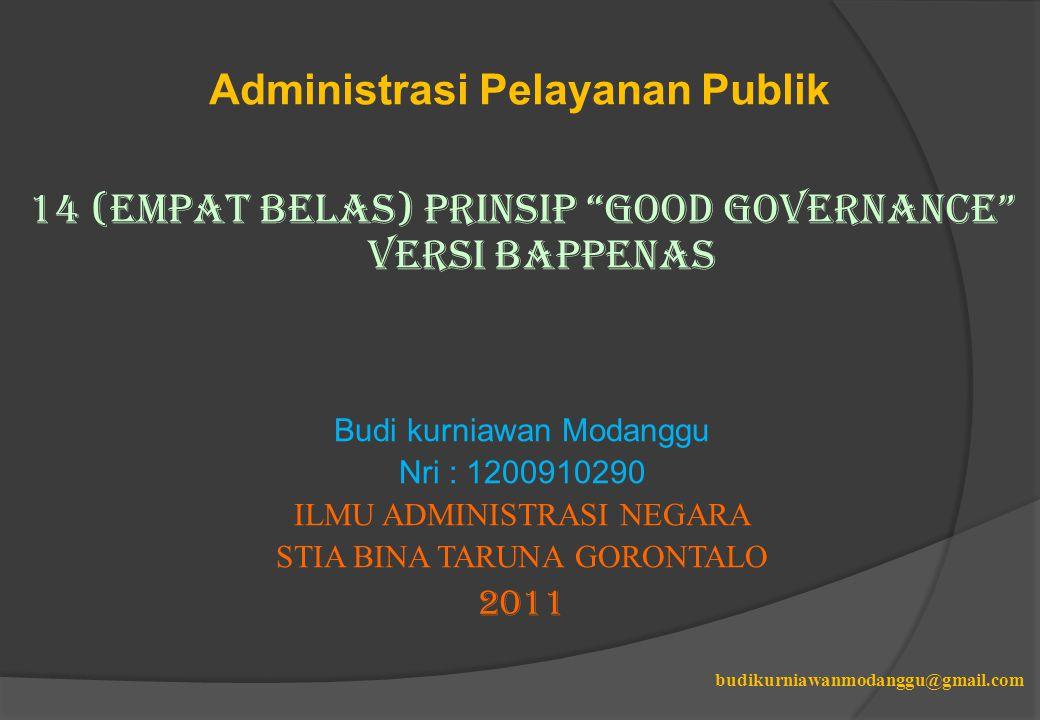 Administrasi Pelayanan Publik