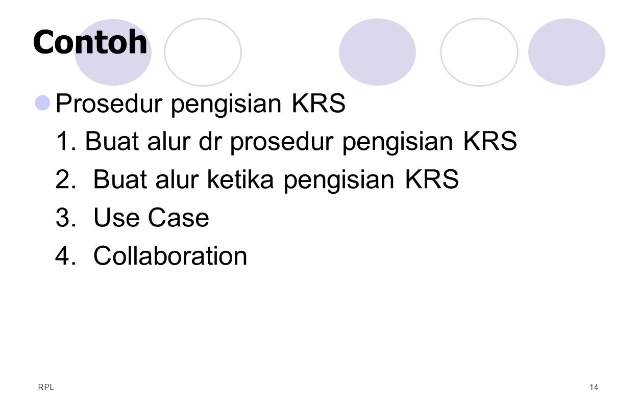 Contoh Prosedur pengisian KRS 1. Buat alur dr prosedur pengisian KRS