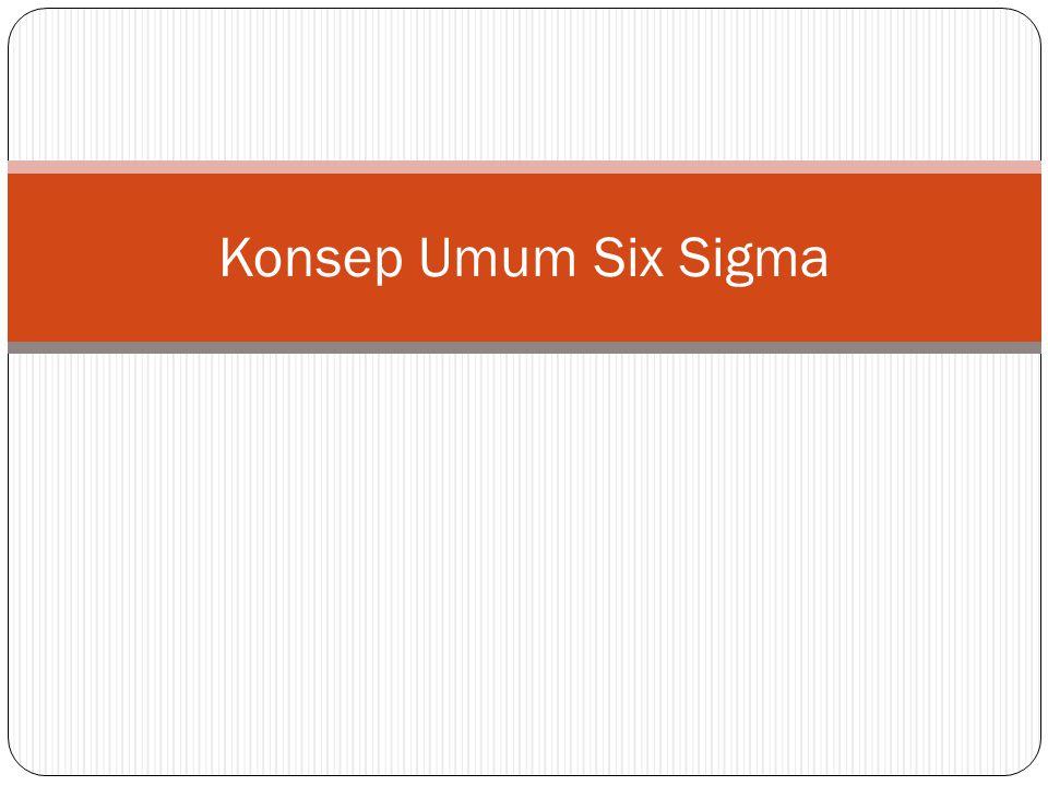Konsep Umum Six Sigma