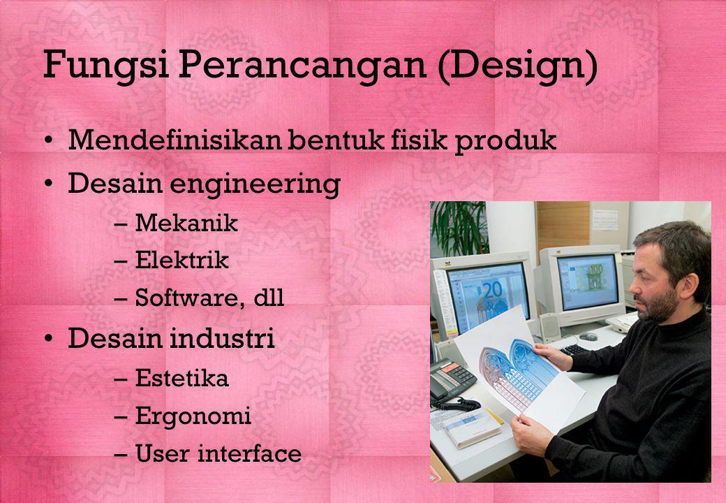 Fungsi Perancangan (Design)